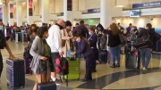 U.S. Holiday Travel Surges as U.S. COVID-19 Cases Soar Past 12 Million