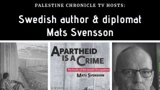 Palestine Chronicle TV: Talking to Mats Svensson, Author of 'Apartheid is a Crime'